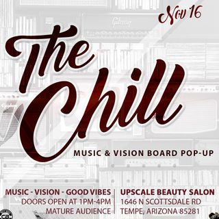 The Chill Music & Vision Board Pop-Up