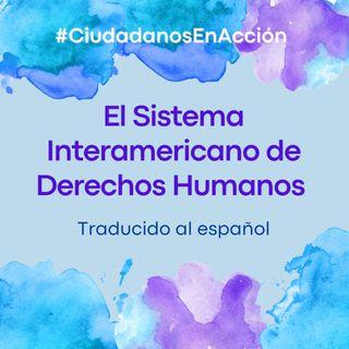 El Sistema Interamericano de Derechos Humanos: Traducido al Español