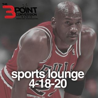 The 3 Point Conversion Sports Lounge- Who's Legacy Did MJ's Greatness Affect The Most, Christian McCaffrey's Deal The Market, BattleGround