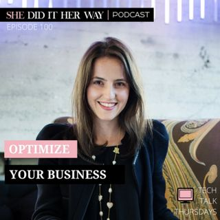 SDH100: Optimize Your Business With Holly Cardew