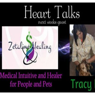 Heart Talks Guest Zetaline Healing