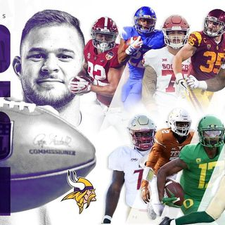Purple People Eaters: Vikings Draft Talk! Did The Vikes Fill Enough Holes on O-Line?