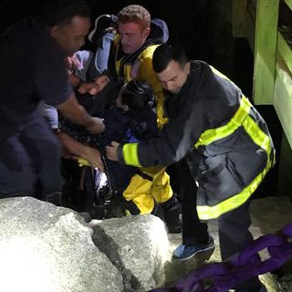 Woman Rescued From Boston Harbor Near JFK Library
