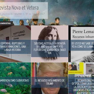Revista Nova et vetera edición noviembre