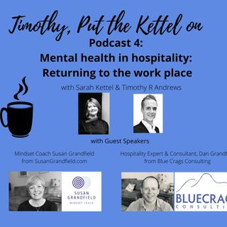 Mental Health in Hospitality & Returning to The Work Place
