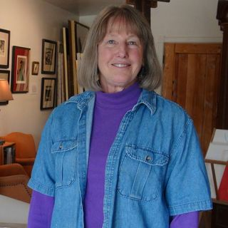 New Eyes on New Mexico - Artist Victoria Chick on Big Blend Radio