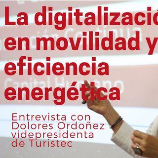 Digitalización en movilidad y medio ambiente  Dolores Ordoñez