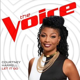 Courtney Harrell From NBC's The Voice