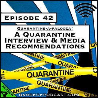 A Quarantine Interview & Media Recommendations [Season 4, Episode 42]