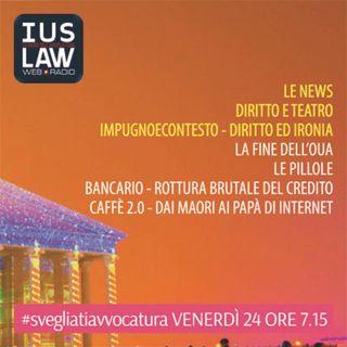Venerdì,  24 Marzo 2017 #SvegliatiAvvocatura - LIVE
