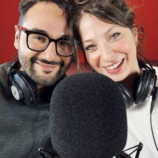 Emanuele Lauriola ed Alessia Lanna a Radio 105