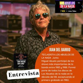"""ENTREVISTA """"JUAN DEL BARRIO"""" (ABUELOS DE LA NADA) en UNA NOCHE SIN LUNA RADIO URBE 97.3"""