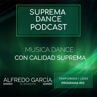 DJ Residente Alfredo García | Programa-3 | T.1 | SDP
