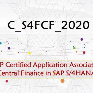 Central Finance in SAP S/4HANA C_S4FCF_2020 Dumps