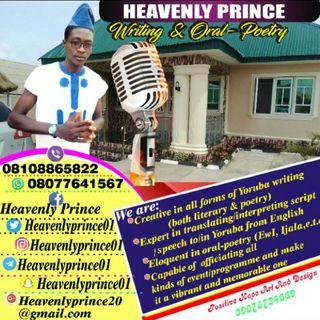 Heavenlyprince Broadcasting