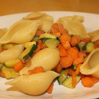 Conchiglie Con Zucchine E Carote
