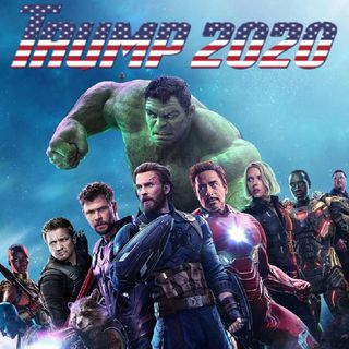 #Avengers running for President 2020 #MAGAFirstNews with @PeterBoykin