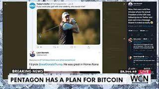 The Pentagon has a plan for Bitcoin - $9526 #THS