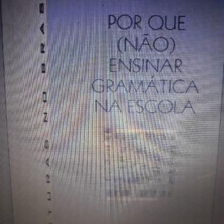 Episódio 1 -Resenha produzida para apoio formativo aos alunos da disciplina Didática do Ensino de Língua Portuguesa