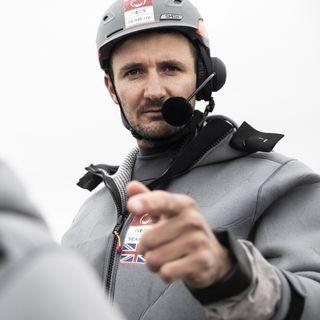 Ineos Team UK tactician Giles Scott