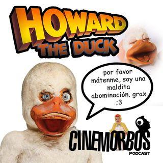 Howard The Duck (1986) ¿La primera y peor adaptación de un comic de Marvel en la historia?