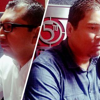 Dirigentes de Morena y el PAN discuten primer año de Santos