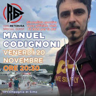 Manuel Codignoni Special Guest from Radio Rai