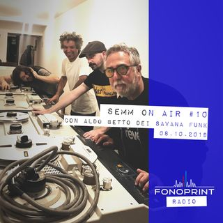 SEMM ON AIR | 010 | Husky Loops, Sampa The Great e Levante insieme a Aldo Betto