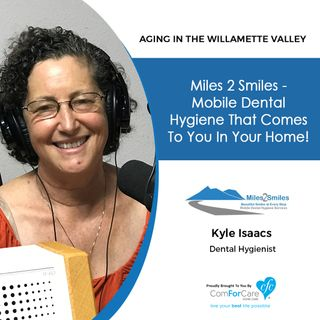 9/25/18: Kyle Isaacs with Miles 2 Smiles, LLC | Miles 2 Smiles - mobile dental hygiene that comes to you in your home!