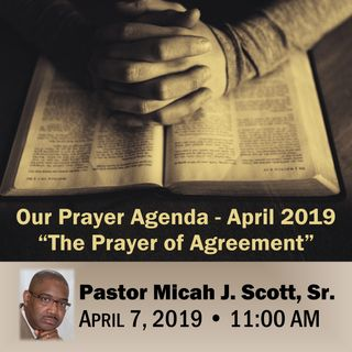 April 2019 Prayer Agenda