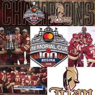 MEMORIAL CUP CHAMPS..The @ABTitan are bringing the Cup to Maritimes, plus QMJHL Draft this Saturday!!!