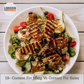 20 -Content For Sales