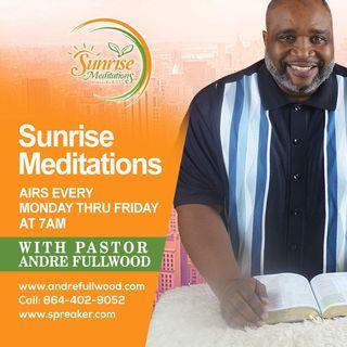 Episode 138 - Sunrise Meditations with Andre Fullwood