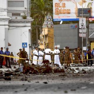 Terrorismo en Sri Lanka