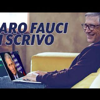 Caro Fauci ti scrivo  Dietro il Sipario  Talk Show