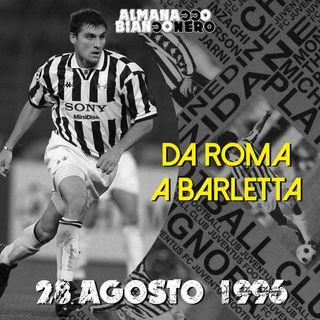 28 agosto 1996 - Da Roma a Barletta