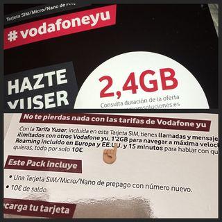 Vodafone: me siento tumbado.