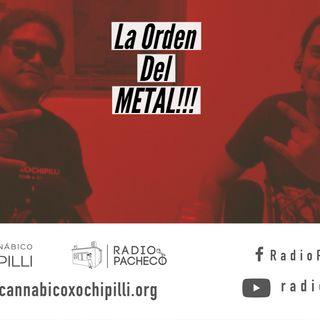 La Orden del METAL!! Prog 22 Radio Pacheco