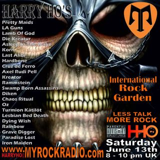 Harry Ho's intern. Rock Garden 13.06.2020