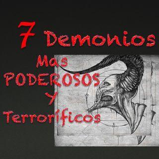 Los 7 Demonios mas poderosos y terroríficos de La Biblia