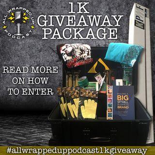 1k Giveaway Winner  (Live on Instagram)