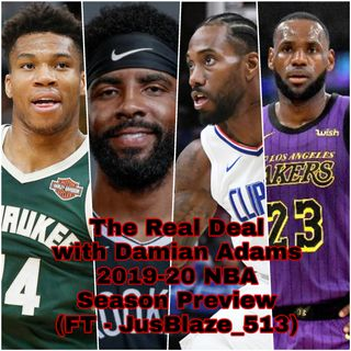 2019-20 NBA Season Preview (FT - JusBlaze_513)