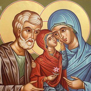 San Joaquín y Santa Ana, padres de la Virgen Maria