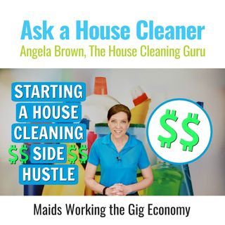 House Cleaning Side Hustle -  Working in The Gig Economy
