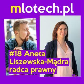 #18 Prawo dla przedsiębiorcy i psychologa, regulaminy, RODO: Aneta Liszewska-Mądra - radca prawny