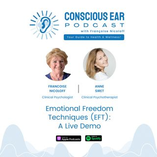 S2E3: Emotional Freedom Techniques (EFT) with Anne Siret