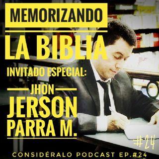 24.Memorizando la Biblia - Técnicas y Métodos Con Jerson Parra