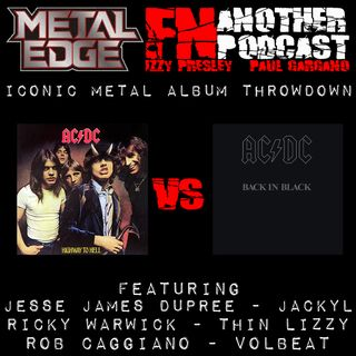 METAL EDGE PRESENTS ACDC HIGHWAY TO HELL VS BACK IN BLACK