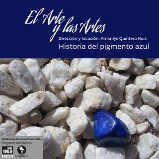Historia del pigmento azul