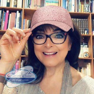 """María Esther Erosa, autora  de """"De Oruga a Mariposa"""" con el tema: """"AutoTransformación en el RETIRO"""""""
